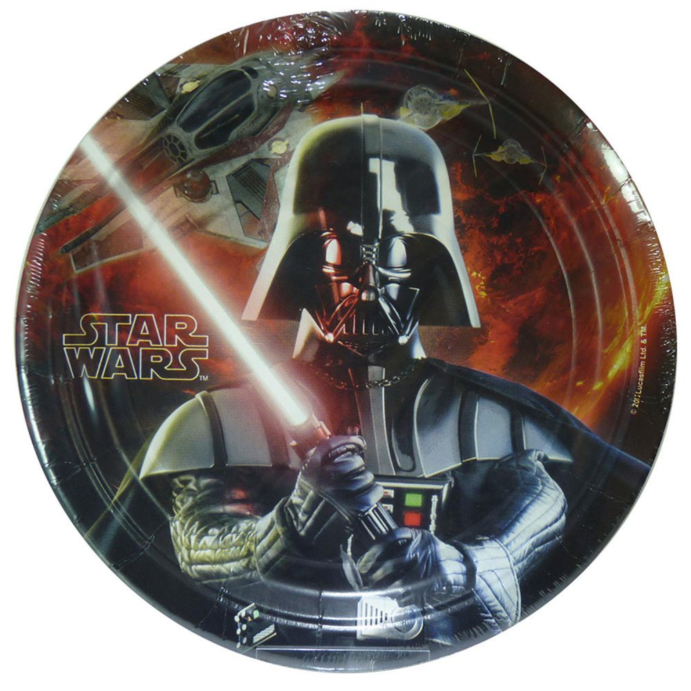 Star wars movie partyzubehör: teller (8 stück)