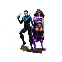 Batman Family Multi-Part 2 Statue Nightwing & Huntress