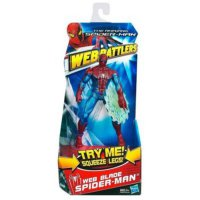 Spider-Man Web Battlers Actionfigur: Launching Web Attack