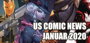 US-Comicneuheiten Januar 2020 / Previews Order - Comic Neuheiten aus den USA von Marvel, DC, Image, Dark Horse und anderen!