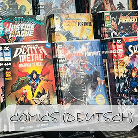 Deutsche Comics und Alben
