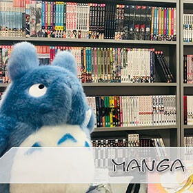 Große Auswahl an Manga