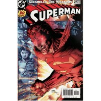 Superman 215 (Vol. 2) Red Eyes Cover