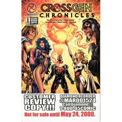 CrossGen Chronicles 1 Customer Review Copy