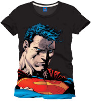 Superman T-Shirt - Jim Lee (schwarz)