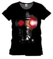 Guardians of Galaxy T-Shirt - Star-Lord Helmet (schwarz)