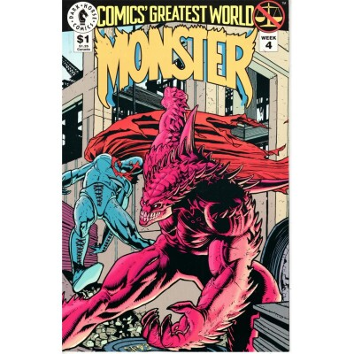 Comics Greates World (Vol.1) Arcadia 4 Monsters