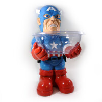 Avengers Candy Holder Süßigkeiten-Butler: Captain America