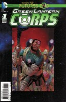 Futures End : Green Lantern Corps 1 One Shot 3D Motion Cover