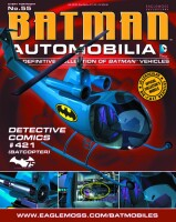 DC Batman Automobilia Collection Magazin + Modell 55:...