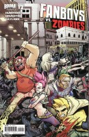 Fanboys VS Zombies 12 Cover B