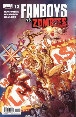 Fanboys VS Zombies 12 Cover A