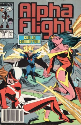 Alpha Flight 72 (Vol. 1)