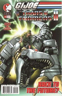 G.I. Joe vs. Transformers II 4 Cover A