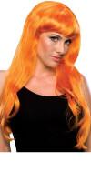 Damen-Perücke: Glamour (orange)
