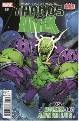 Thanos VS Hulk 4