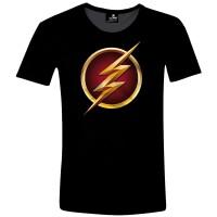 Flash T-Shirt - 3D Logo (schwarz)
