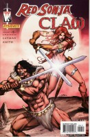 Red Sonja Claw 4 Cover B