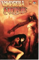 Vampirella Witchblade Union of the Damned 1 Shy Cover