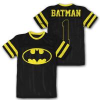 Batman Mesh Trikot - Batman Logo (schwarz)