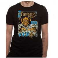 Fantastic Four T-Shirt - Issue 49 Distressed (schwarz)