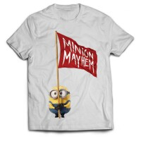 Minions T-Shirt - Minion Mayhem (weiss)