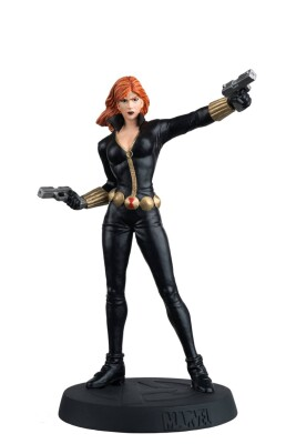 Marvel Fact Files Special 08: Black Widow mit Figur