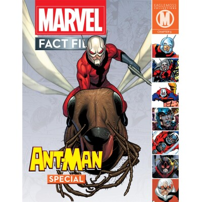 Marvel Fact Files Special 10: Ant-Man mit Figur