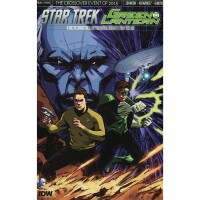 Star Trek Green Lantern Crossover 1 Cover Subscription