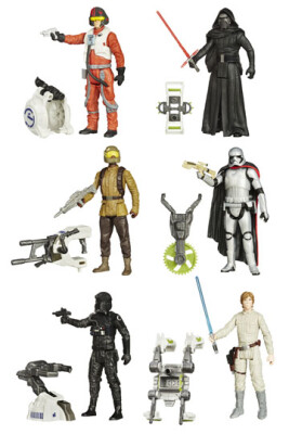 Star Wars 2015 Jungle/Space Actionfiguren: Wave 1 (verschiedene Figuren)