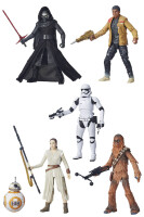 Star Wars Episode VII Black Series Actionfiguren: Wave 1...