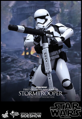Star Wars Episode VII Großfigur: First Order Heavy Gunner Stormtrooper Sixth Scale (Hot Toys)