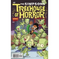 Simpsons Comics Treehouse of Horror 21