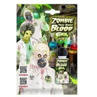 Toxic Zombie grünes Kunstblut-Gel Flasche (28 ml)