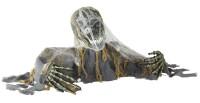 Zombieskelett mit Sound und Bewegung (120 cm von Arm zu Arm)
