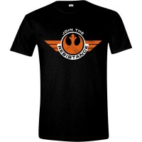 Star Wars T-Shirt - Episode VII Join Resistance (schwarz)
