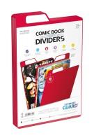 Ultimate Guard Premium Comic Book Dividers (Rot) (25)