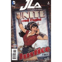 Justice League of America 3 (Vol. 4) Bombshell Variant