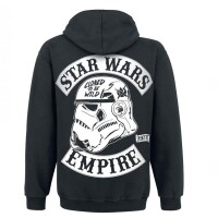Star Wars Kapuzenjacke - Cloned to be Wild (schwarz)