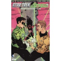 Star Trek Green Lantern Crossover 2 Cover A