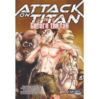 Attack on Titan - Before the Fall 4 (Hajime Isayama)