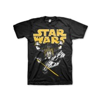 Star Wars T-Shirt - Darth Vader Intimidation (schwarz)