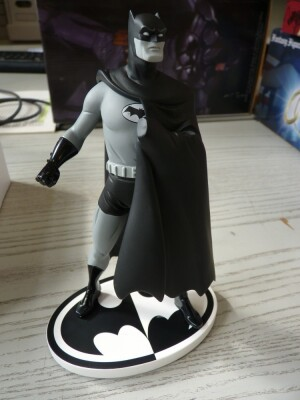 Batman Black & White Resin-Statue - Batman von Darwyn Cooke 2nd Edition (Mängelexemplar)
