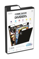 Ultimate Guard Premium Comic Book Dividers (Schwarz) (25)