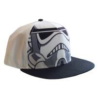 Star Wars Baseball Cap Snapback - Trooper (weiss/grau)