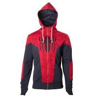 Spider-Man Kapuzenjacke - Spider-Man (rot/blau)