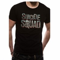 Suicide Squad Movie T-Shirt - Logo (schwarz)