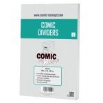 Comic Concept Titeltrenner L (weiß) (25 Stück) 184 x 285 mm