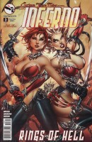 Grimm Fairy Tales presents Inferno 3 Cover A