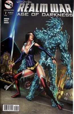 Grimm Fairy Tales Realm War Age of Darkness 7 Cover A